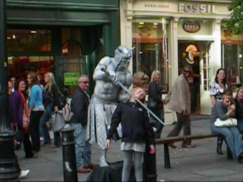 The Pervert Silver Warrior - Covent Garden