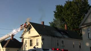 Summer Street Fire in Auburn, Maine