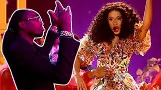 Offset Sends Nicki Minaj A Message During Cardi B's 2018 AMA Performance!