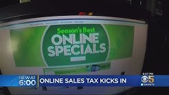 California Begins Collecting Sales Tax On Online Purchases
