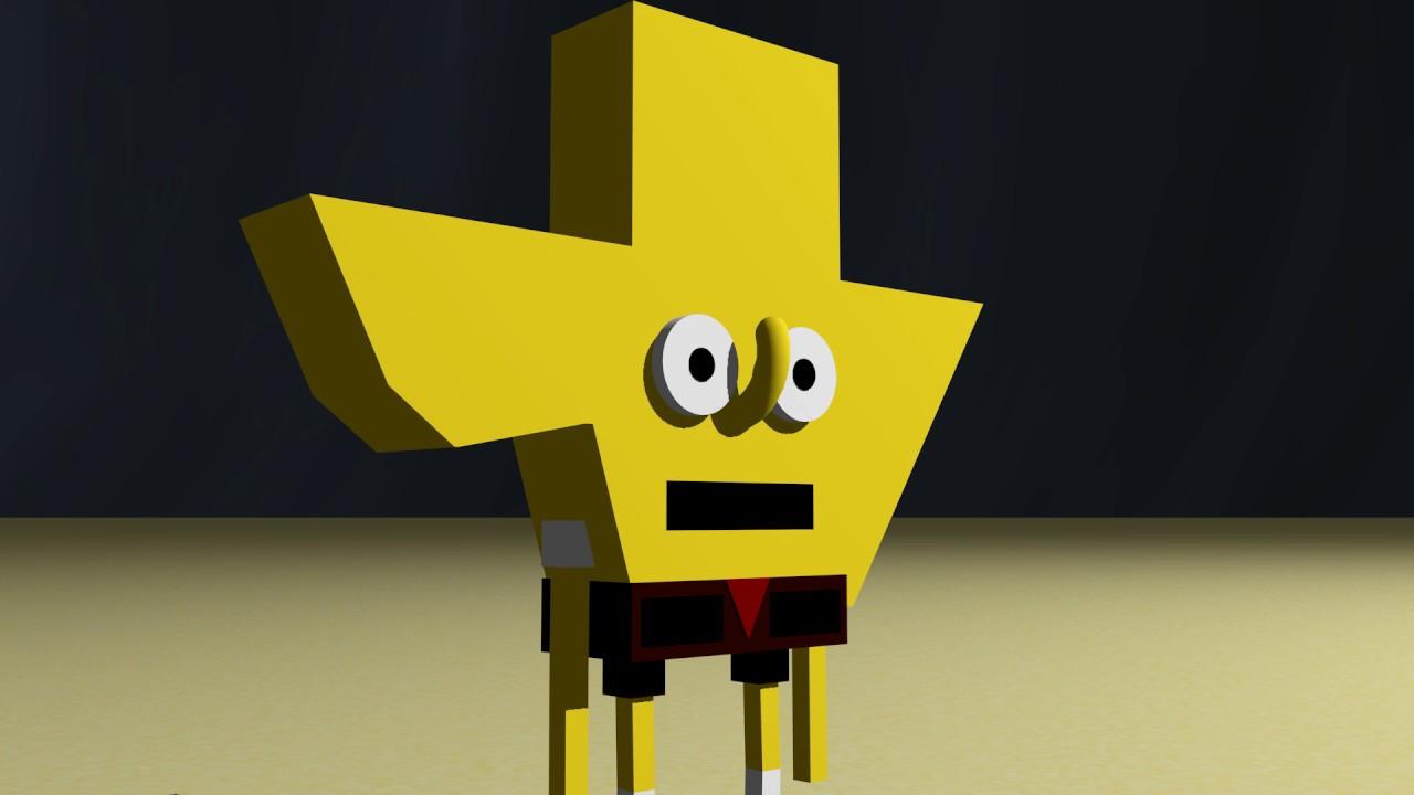 Spongebob says texas is stupid