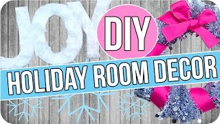DIY Holiday Room Decor! Easy & Cheap!