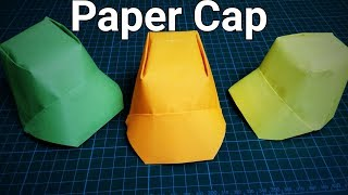 Paper Cap/Paper Hat | How To Make Origami Paper Cap | DIY Paper Cap |