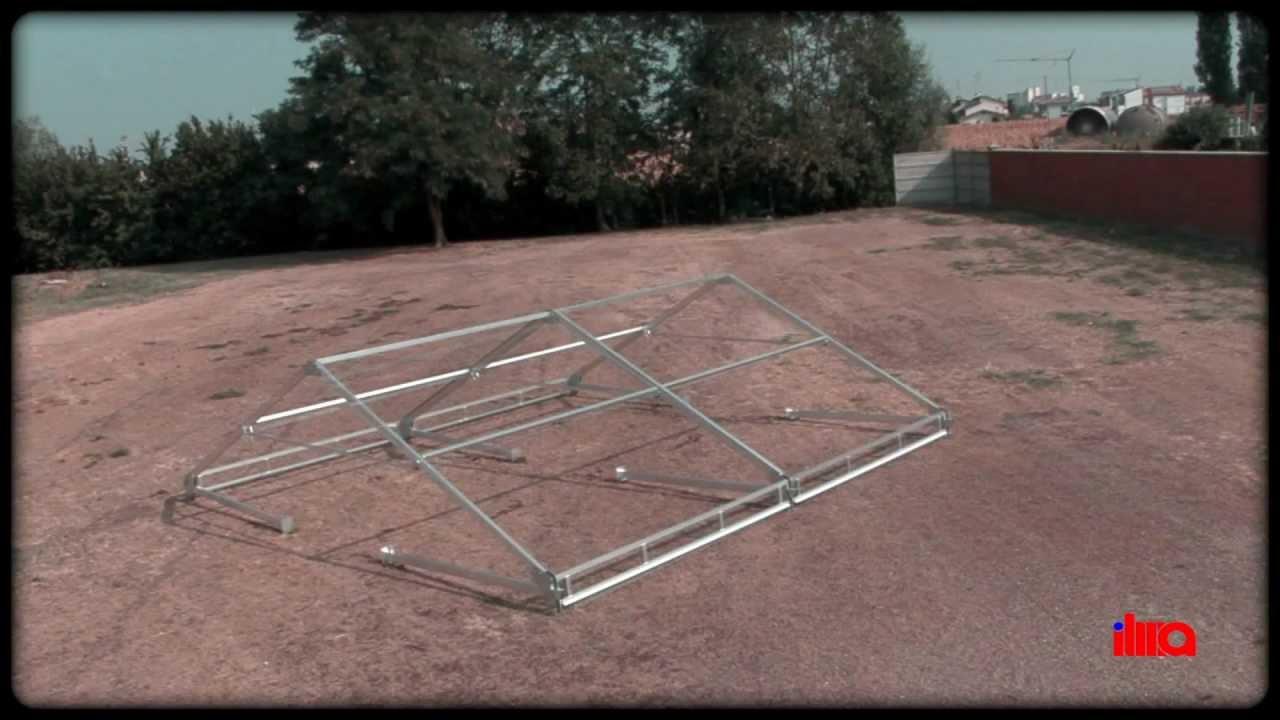 Gazebo pieghevole, in alluminio   ilma stand.com   youtube