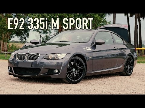 BMW 3 Series E92 335i Review 0-60 mph Twin Turbo Coupe 0-100 kmh Speed EP#14
