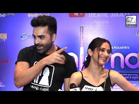 Hunar Hali And Mayank Gandhi's Funny Interview   Pajama Party Launch