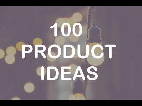 100 Product Ideas - Online Business Niche Ideas for E-commerce (Amazon, eBay, Shopify)