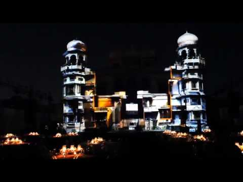 Projection Mapping Mohatta Palace