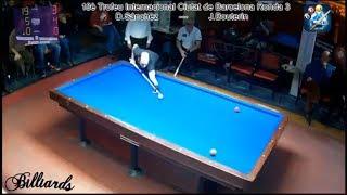 3 Cushion Billiard Amazing Daniel Sanchez 40 points in 7 innings must watch