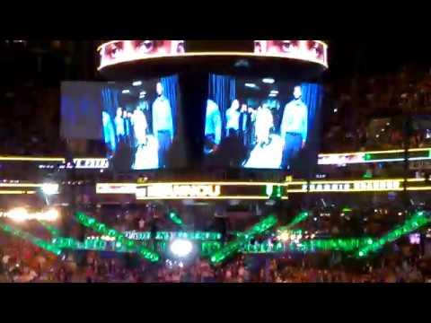 Francis Ngannou Walkout UFC 220 1/20/18 Boston Garden