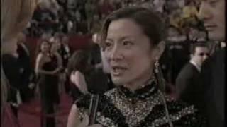 ABC Oscar Preshow: Michelle Yeoh (2001)