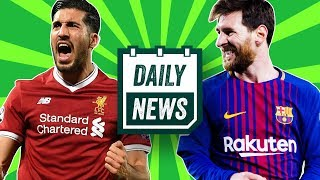 TRANSFER NEWS: Messi £625m release clause to be tested + Angel Di Maria to Inter ►Daily News