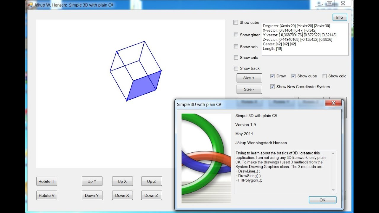 3D in Plain C#