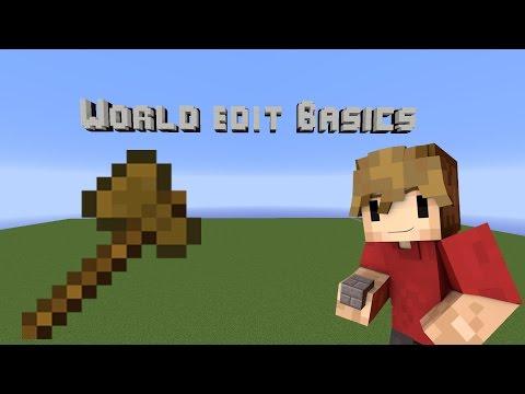 Minecraft Building Tutorial: World Edit Basics! - YouTube