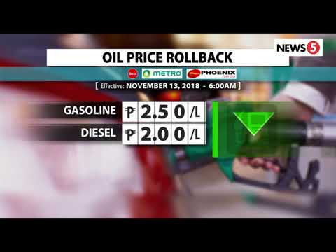 OIL PRICE ROLLBACK | November 13, 2018