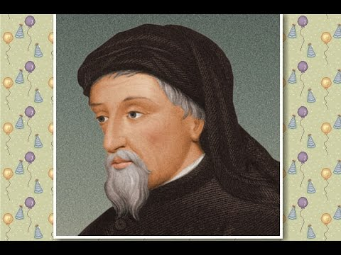 Why Geoffrey Chaucer is called the Father of English poetry {Chaucer  the father of English poetry}
