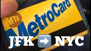 How to get from JFK Airport to Manhattan / New York City