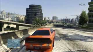 GTA 5 ORANGE INTRUDER BAD GUY WITH POLCE