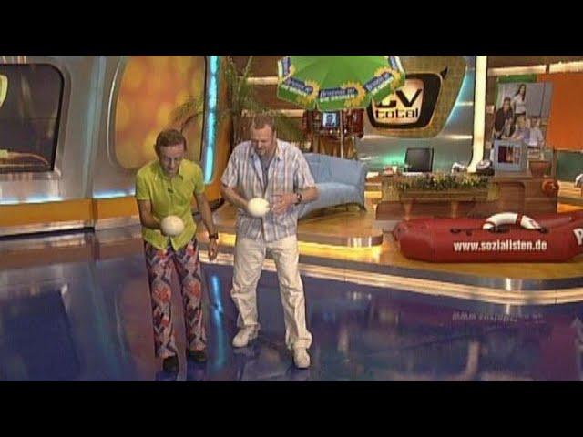Straußeneierlauf mit Wigald Boning  - TV total
