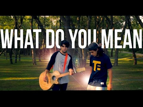 Justin Bieber - What Do You Mean? (Tyler & Ryan Cover)