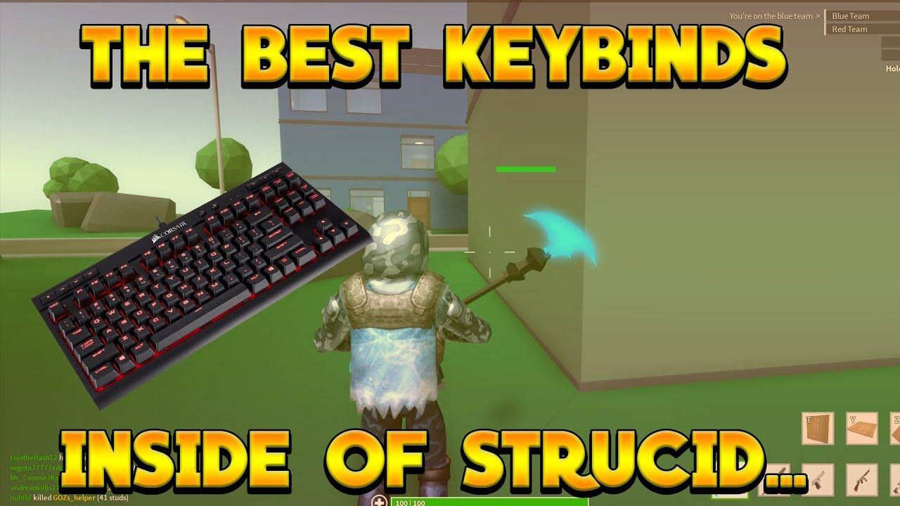 THE BEST KEYBINDS IN STRUCID?!?!?| Strucid tutorial - YouTube