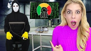 GAME MASTER Spy Takes Lie Detector Test!  (Framed by Project Zorgo and CWC with Mysterious Clues?)