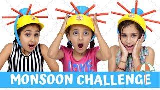 Monsoon Challenge | Wet Head Challenge | Funny Games for Kids | #KidsFun #Play #PihuGautam