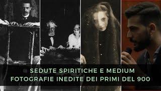 Sedute spiritiche ed esperimenti medianici. Fotografie inedite. Andrea Pellegrino (bookcity 2018)