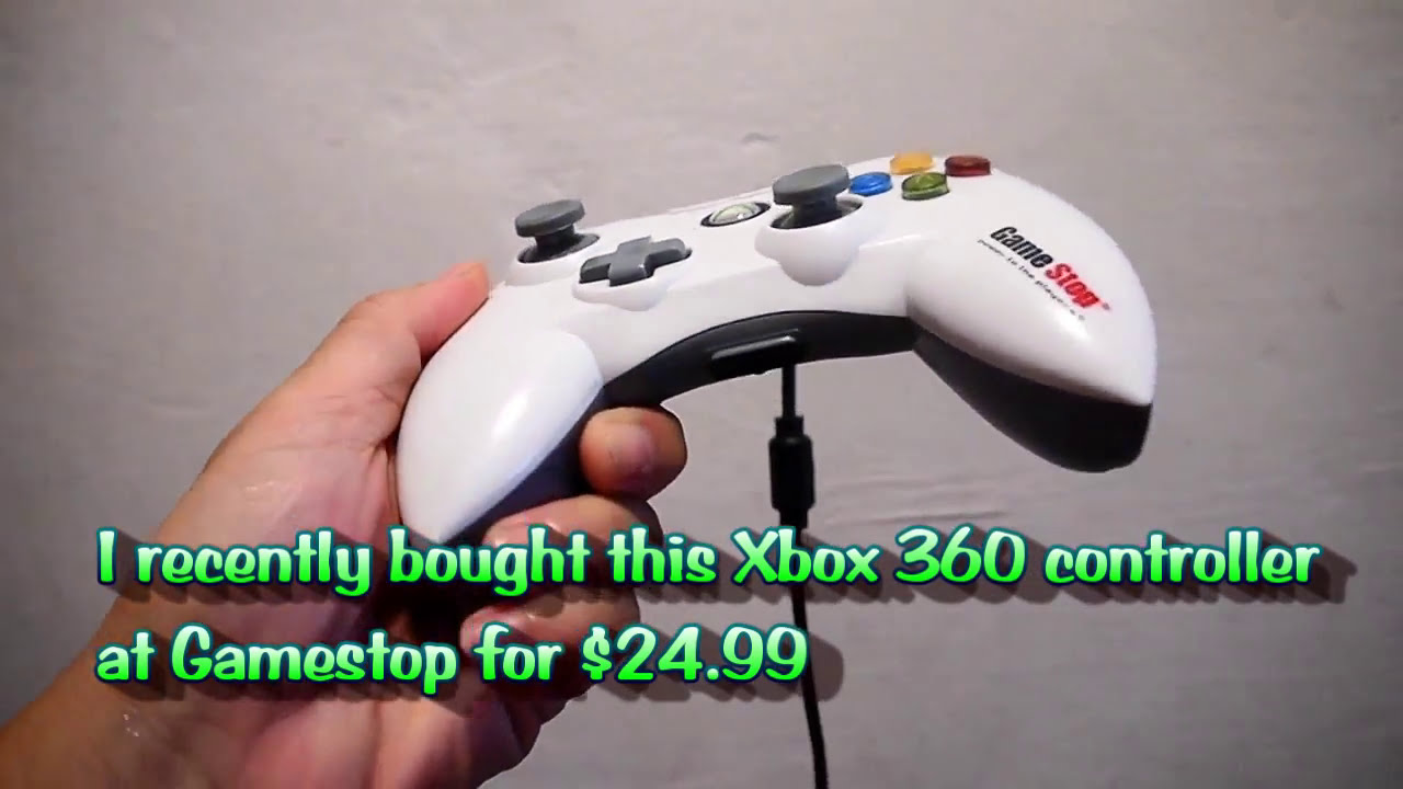 Attractive Xbox 360 Wired Controller Vignette - Electrical and ...
