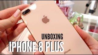 UNBOXING IPHONE 8 PLUS GOLD