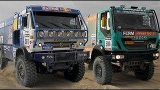 Rally Dakar 2013 Peru Argentina Chile 5ta Etapa - Locura de Camiones - Tacna Peru