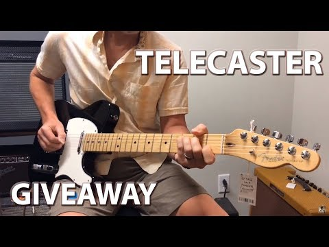 🎸 Telecaster GIVEAWAY 🎸 Erich Andreas visits Gruhn Guitars