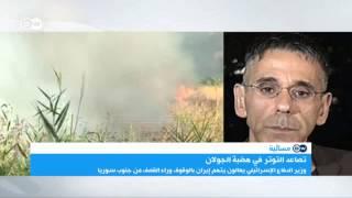 """محلل سياسي إسرائيلي: """"الهجوم الإسرائيلي في الجولان هو رسالة الى إيران"""""""