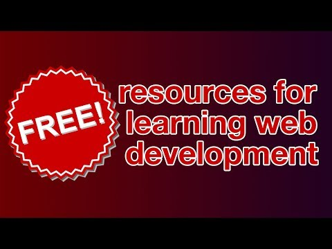 FREE resources for learning web development