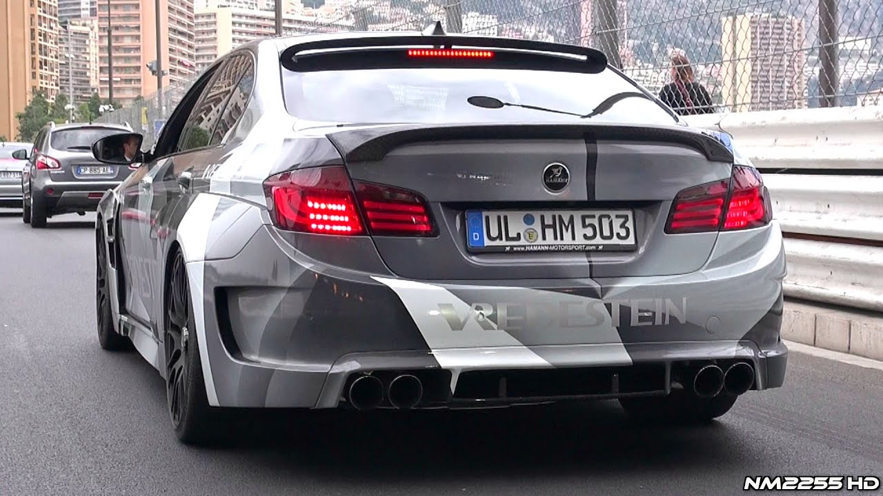 Hamann BMW M5 F10 Exhaust Sound Revs & Accelerations