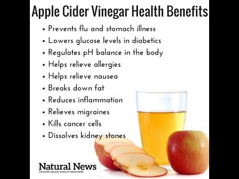 10 Benefits of Drinking Apple Cider Vinegar - YouTube
