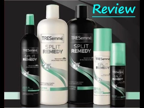 Tresemme hair products review