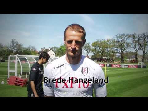 Brede Hangeland Congratulates Surrey FA Junior Club Day Winners Windlesham United