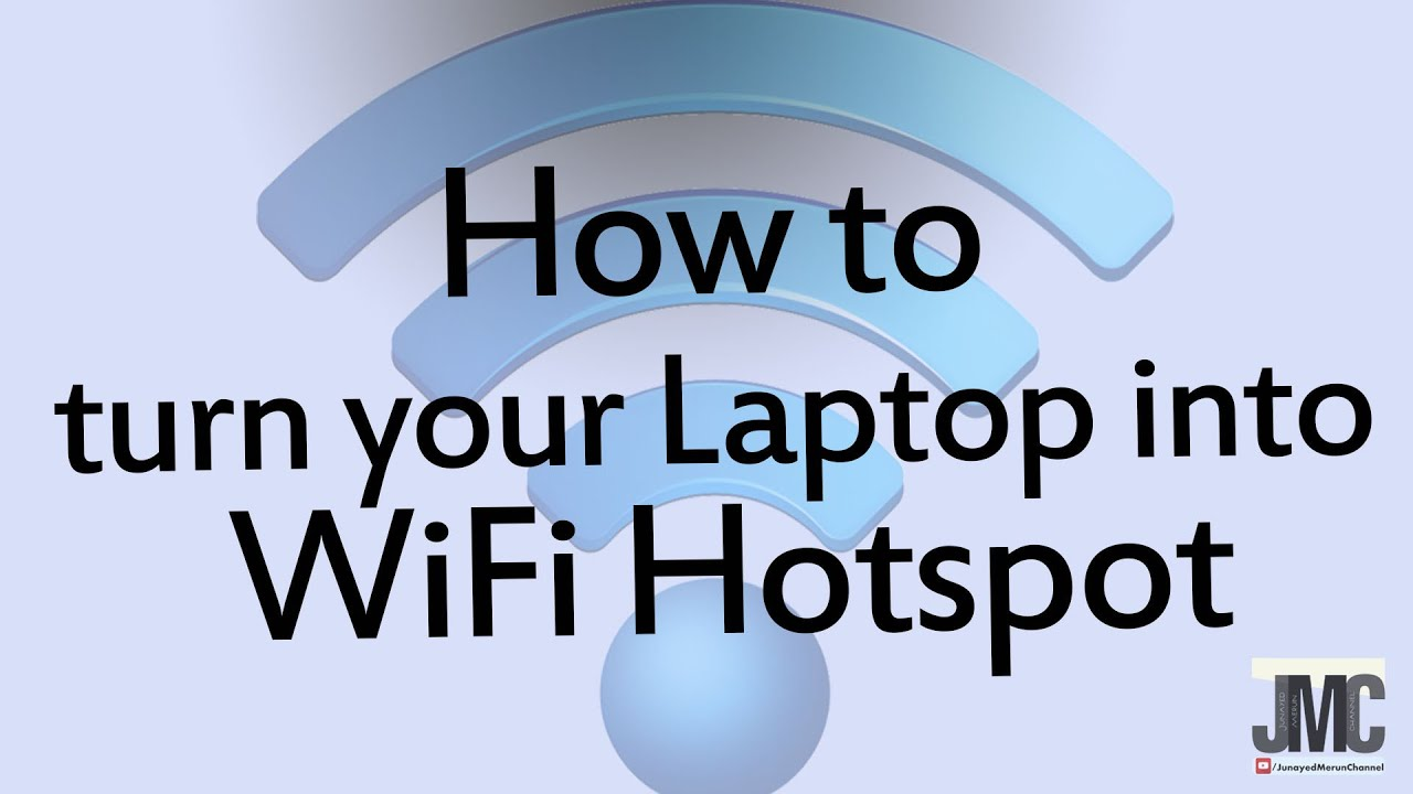 How to turn your Laptop into WiFi Hotspot (mHotspot ...
