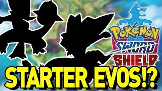 STARTER EVOLUTIONS and NEW POKEDEX in POKEMON SWORD AND SHIELD RUMORS!