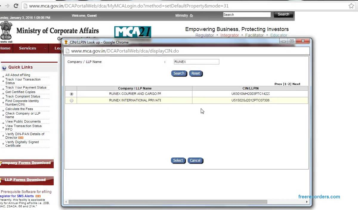 How to check company registration youtube how to check company registration xflitez Image collections