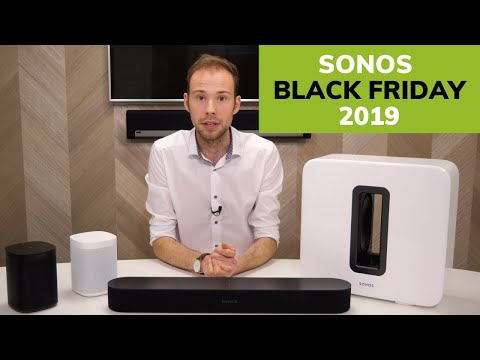 Sonos Black Friday & Cyber Monday 2019 Offers & Discounts
