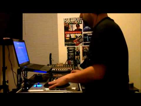 DJ Tony RAW - Party Practice early 2011