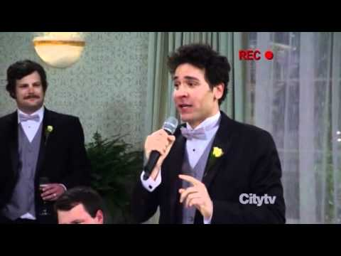 HIMYM How I Met Your Mother Ted Mosbys Wedding Toasts