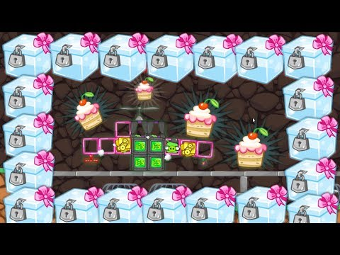 Bad Piggies - NEW CAKE RACE MAP 4300+ SCRAPS GLASS CRATES
