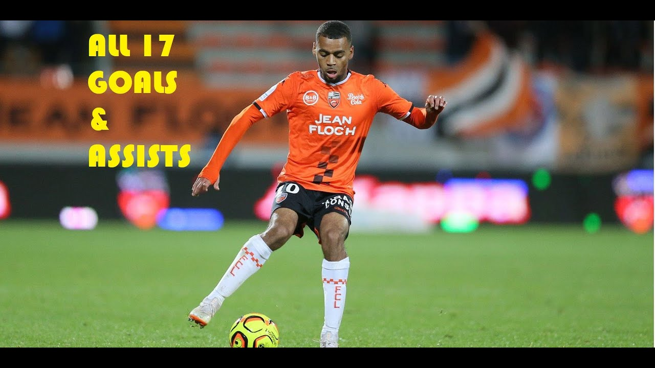 Alexis Claude Maurice - All 17 Goals & Assists - 2018/2019 ...