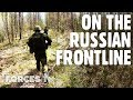 British Personnel On The Russian Frontline In Estonia • EXERCISE SPRING STORM | Forces TV