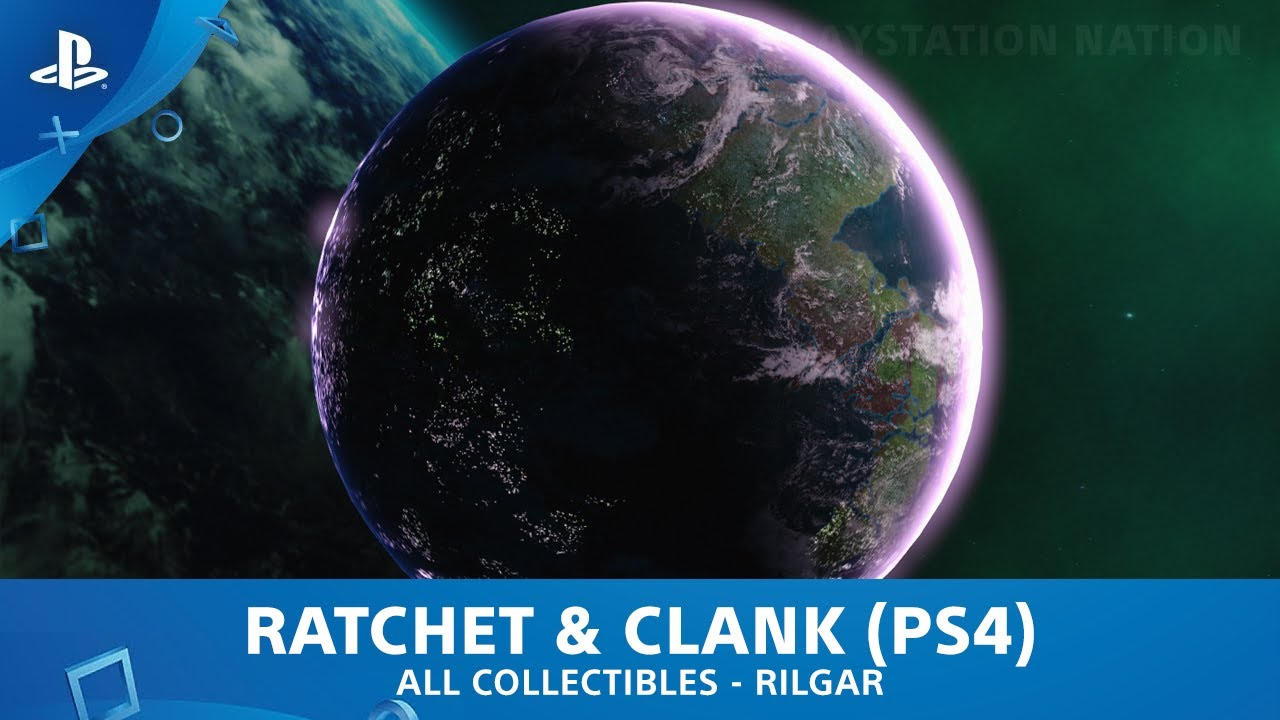 Ratchet Clank Ps4 All Gold Bolts Planet Rilgar Youtube