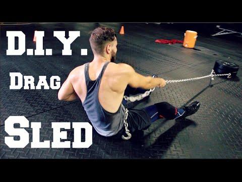 Diy Drag Sled For 50 Youtube