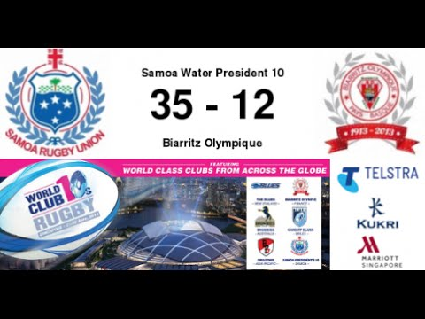 World Club Rugby 10s Pool Samoa v Biarritz